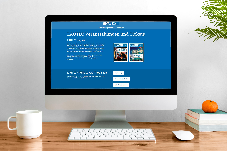 LAUTIX – unser Veranstaltungsanzeigenmagazin