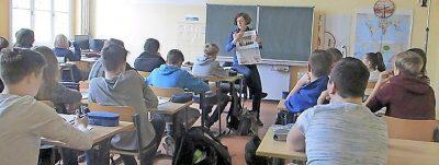 RUNDSCHAU-Reporterin zu Gast in der Paul-Werner-Oberschule