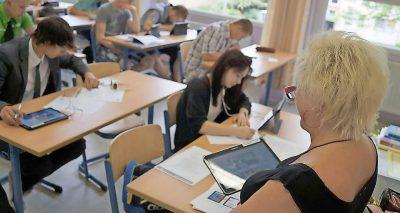 Mit Tablets in den Unterricht