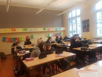 Projekt mit Tablets an der Paul-Werner-Oberschule