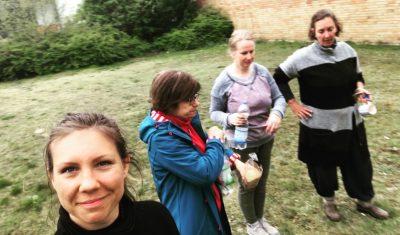 Die Rundschau-Garten-Girls