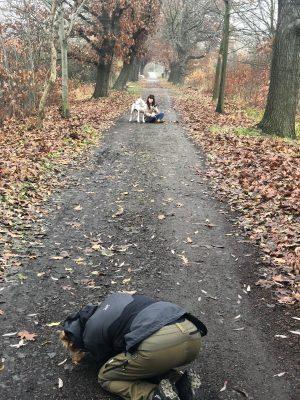 Tierisches Fotoshooting mit Jaqueline, ihren Hunden und leafcolour.com
