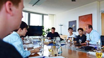 Heutige Generation 10plus stellt die Zukunftsfragen der Lausitz