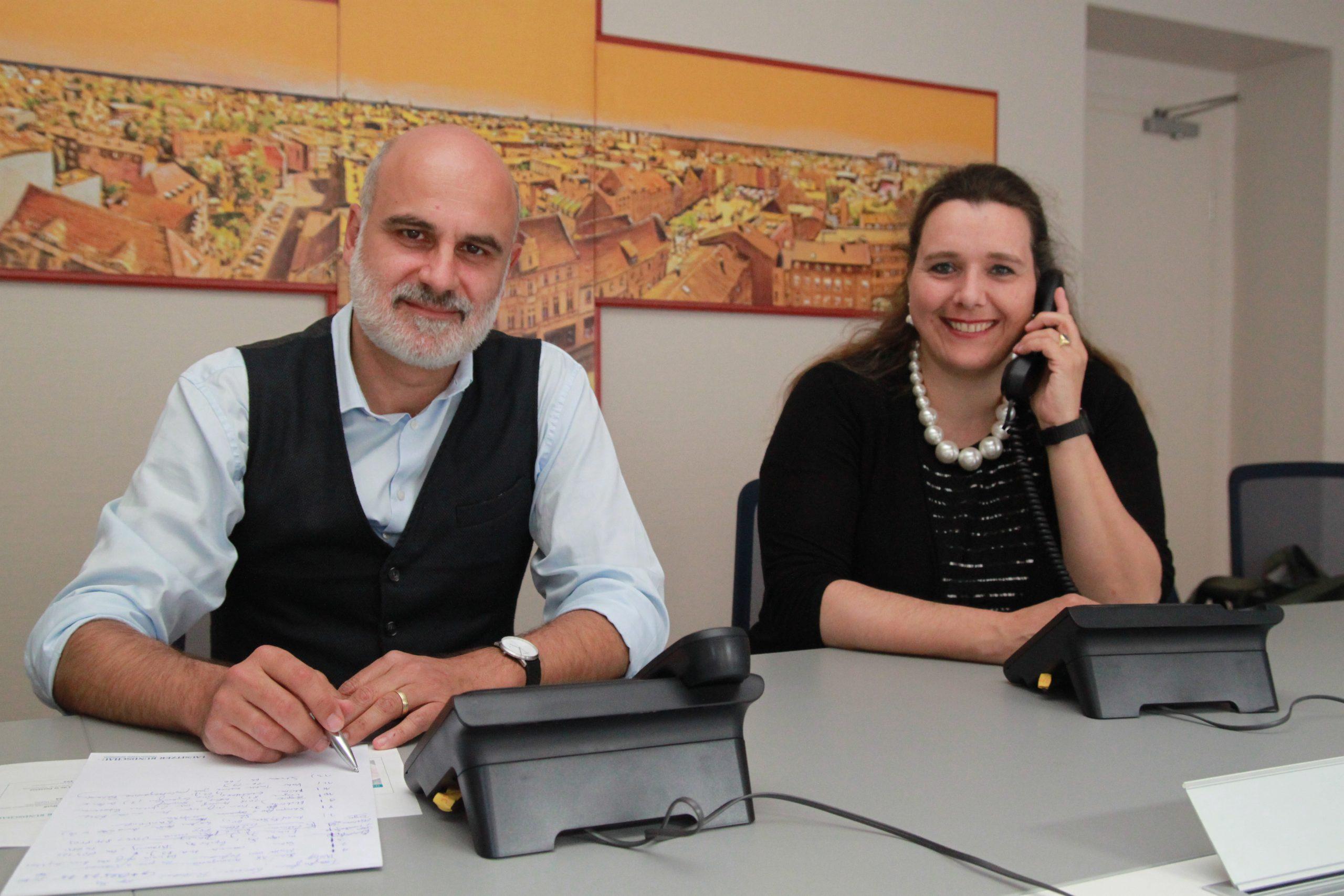 Gesundheitsexperten vom Klinikum Niederlausitz als gefragte Gesprächspartner