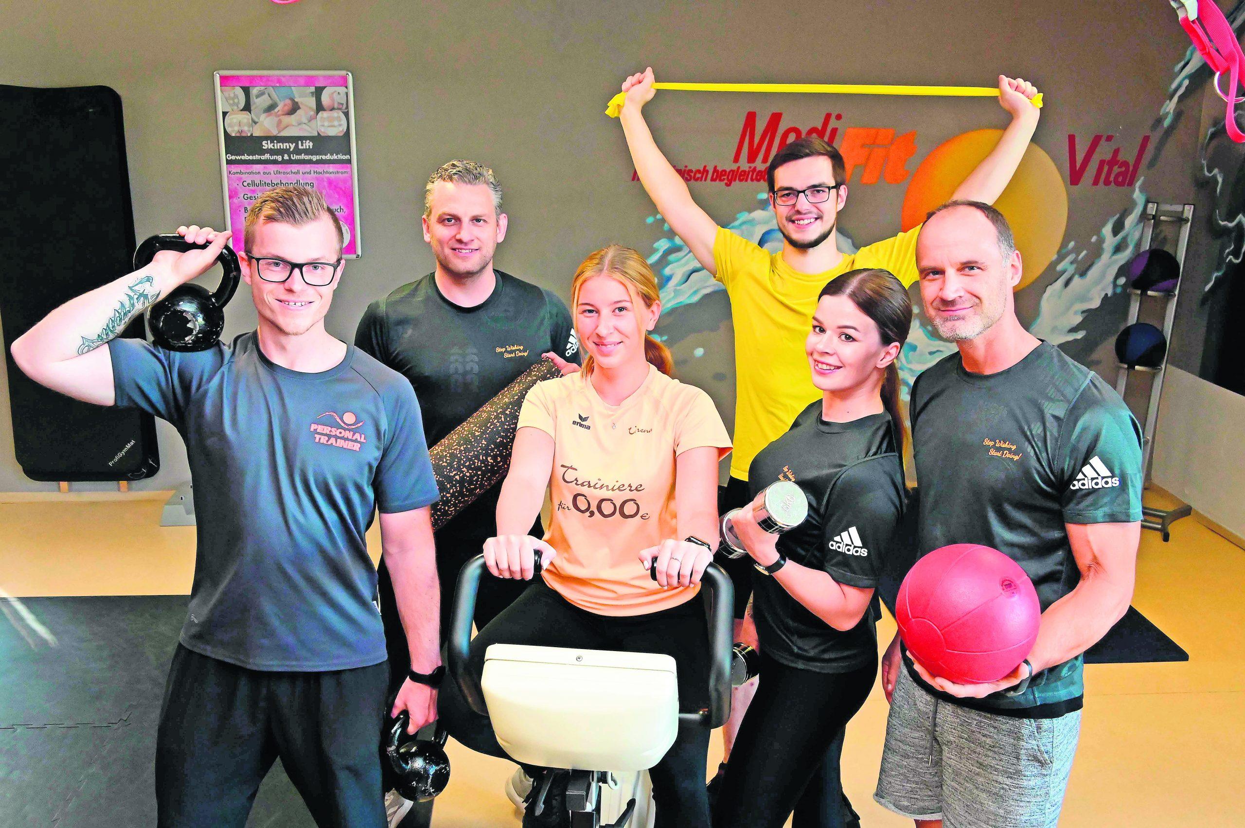 Trainieren Sie mit den Fitness-Profis!