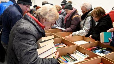 """""""Wir helfen"""" muss Bücherbasar absagen"""